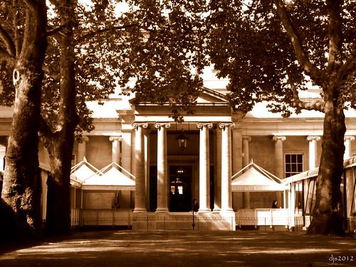 Buckingham Palace Side Entrance