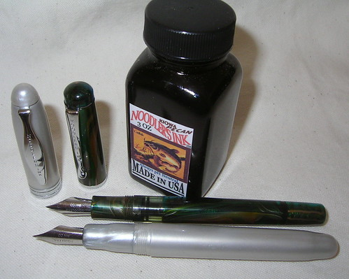 Noodler's Ahab and Konrad Fountain Pens