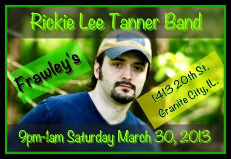 Rickie Lee Tanner 3-30-13