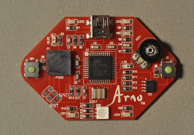 Arno board from Olympia Circuits