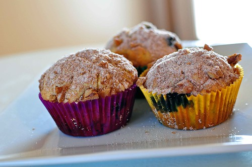 Orange Blueberry Muffins 3