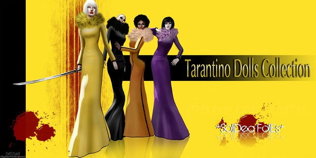 SoliDea FoliEs - Tarantino Dolls Collection - Uma