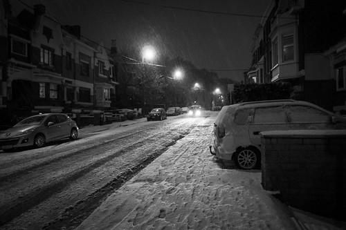 Lost in the Snow Tempest (Grivegnée, Belgique) - Photo : Gilderic
