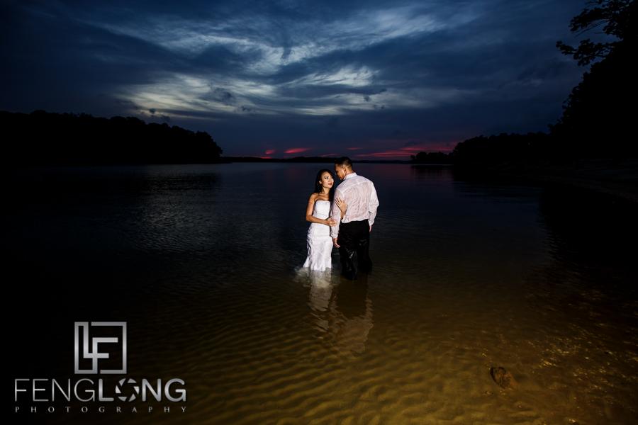 Sophear & Jake's Bridal Trash the Dress   Lake Lanier   Atlanta Asian Cambodian Wedding Photographer