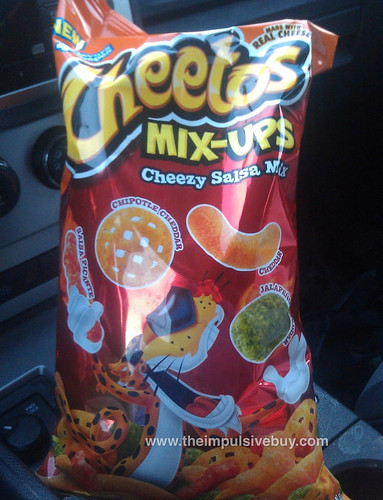 Cheetos Mix Ups Cheezy Salsa Mix