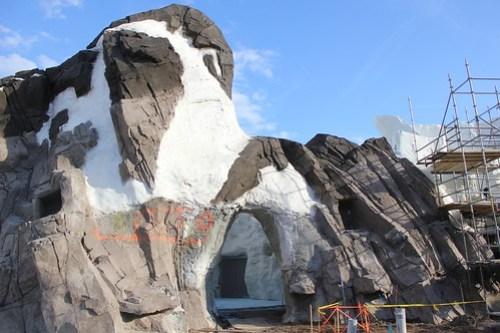 Antarctica construction tour at SeaWorld Orlando