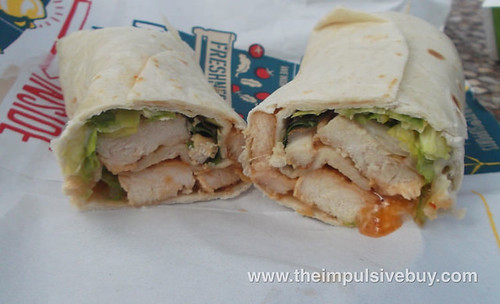 Grilled Chicken Sweet Chili McWrap 10