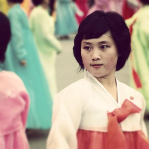 North Korean Mass Dancing Via Instagram