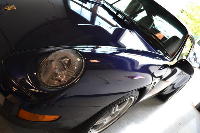 MidNight Blue Porsche993