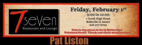 Pat Liston 2-1-13