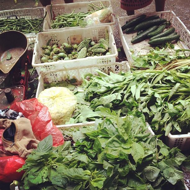 Vegetables at the Ubud Market