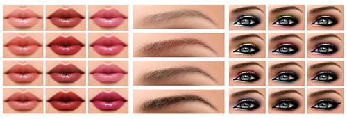 Harlow Skin (All Make-Ups)