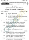 UPTU B.Tech Question Papers -TMM-402- Marine Auxiliary Machinery-I