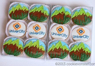 UniverCity Custom cookies corporate gifts