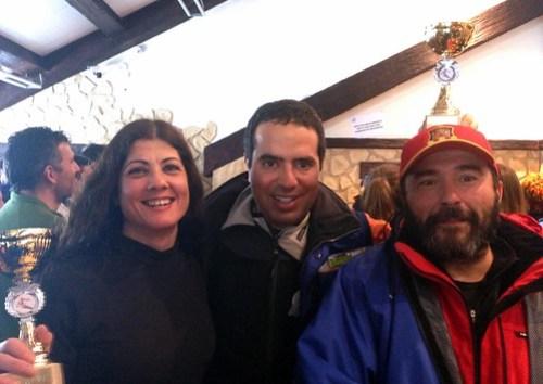 Nacho con Elena y Ángel