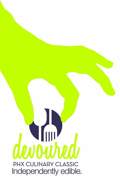 devoured logo & slogan