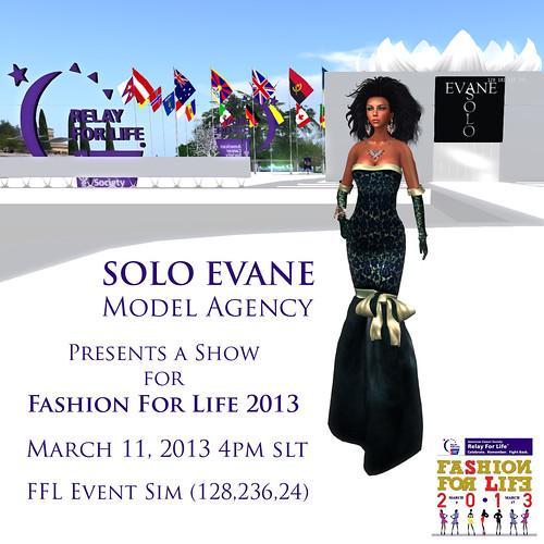 SOLO EVANE FFL SHOW 2013