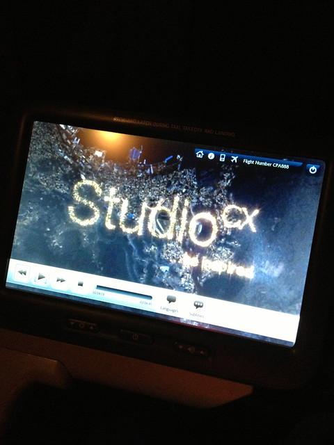 StudioCX on Premium Economy