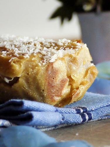 Elena's Grandmothers Apple & ricotta cake