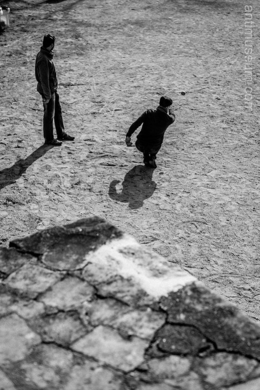 Paris / Lutetia  Arenas - Men playing boules