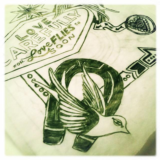 in progress: HankiePankie Sketchs