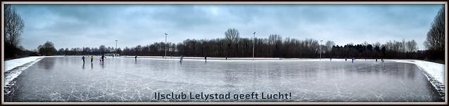 IJsclub Lelystad geeft Lucht! (20-01-2013).