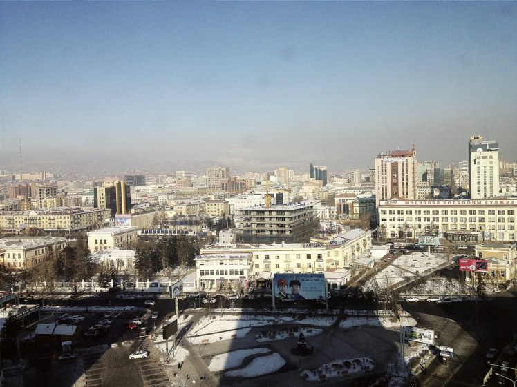 Ulaanbaatar in winter