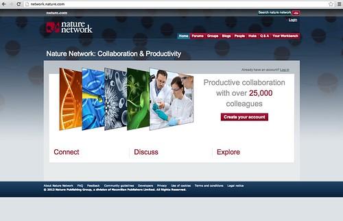 Nature Network Screenshot