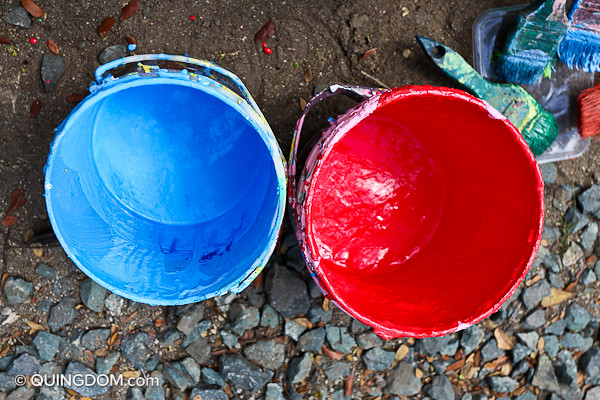 """Flickr"" Paint Buckets"