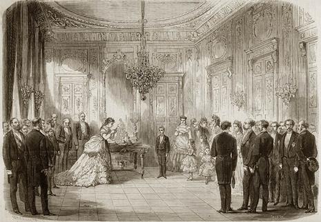 7b10 Isabel II abdica Alfonso XII Palacio de Castilla Hotel Majestic Uti 465