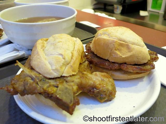 Cafe Tai Lei Loi Kei Macau- pork chop bun HK$36