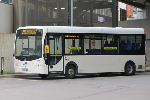 Plaxton Primo, JPT Travel YX60 DWO, Shudehill Interchange, Manchester