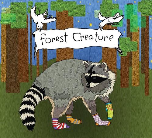 Seth Faergolzia (Dufus) & John Ludington - Forest Creature CD 2013