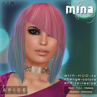 MINA Hair - Spice at My Attic @ The Deck