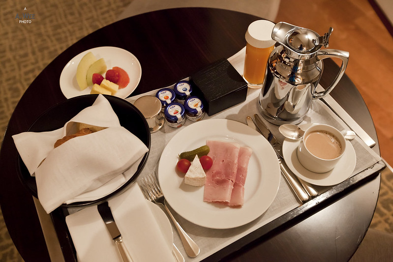 In-room Continental Breakfast