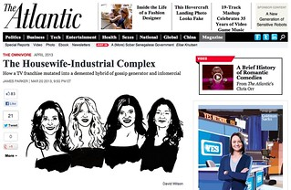 Housewives for The Atlantic