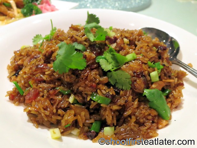 glutinous rice with dried meat & Chinese sausage