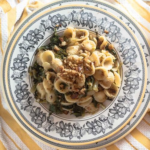 Orecchiette with Escarole and Bread Crumbs (4 of 9)