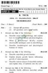 UPTU B.Tech Question Papers -TCA-401-Microbiology