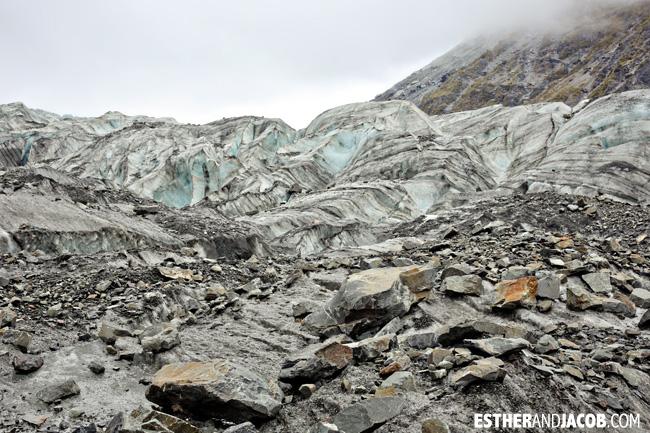 Fox Trot Fox Glacier NZ   New Zealand Glaciers.