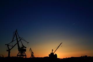 Gothenbrurg Cranes