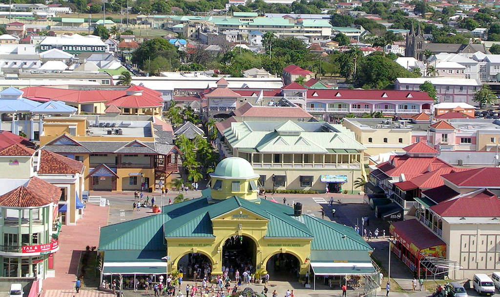 Basseterre - City from Ship