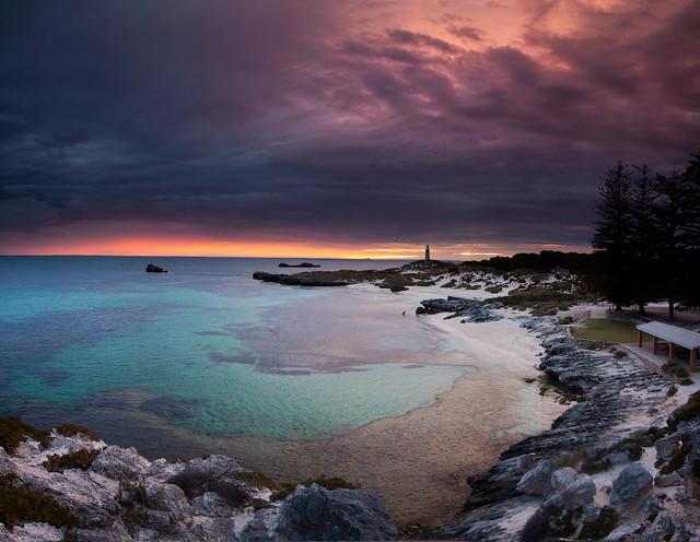 Rottnest Island , the Basin at sunrise