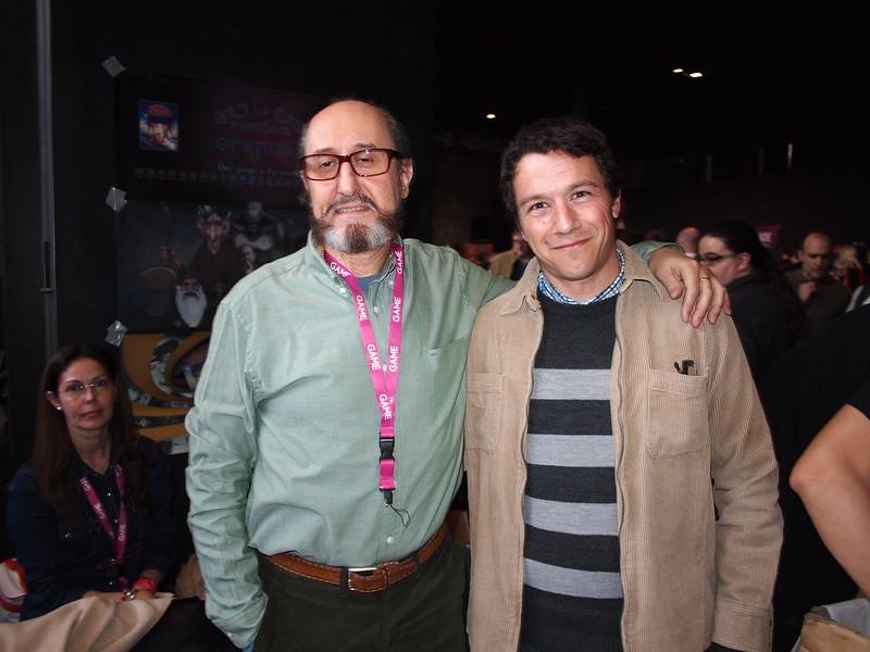 Con Andrés Samudio en Retromadrid 2013