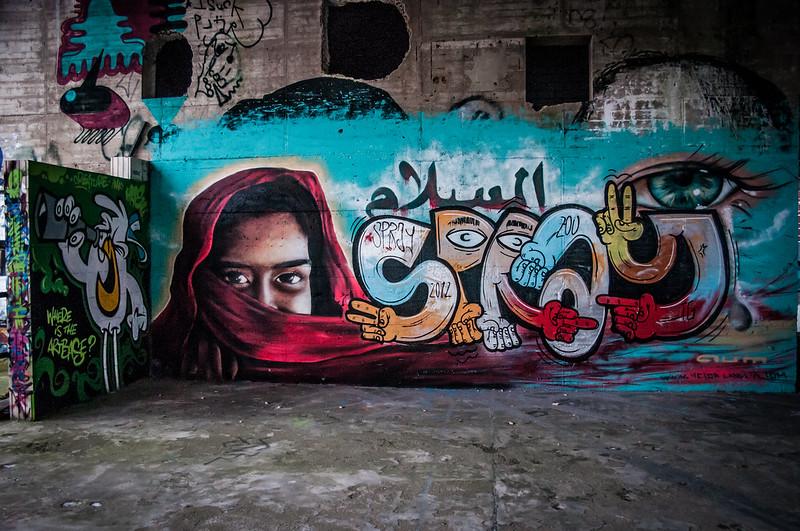 Teufelsberg Berlin Graffiti-16