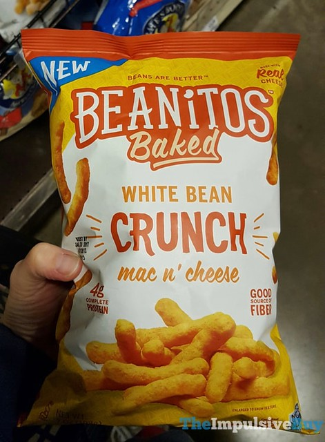 Beanitos Baked Mac n' Cheese White Bean Crunch