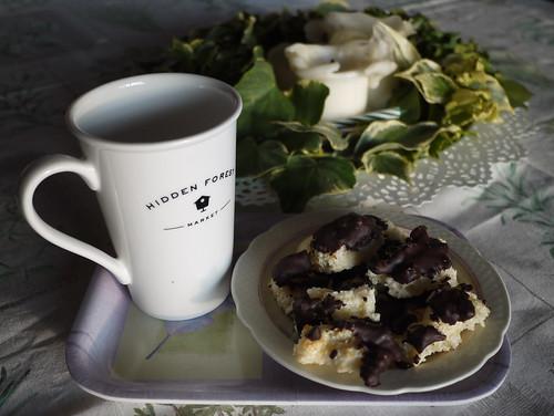 Coconut cakes with limon & chocolate - Dolcetti di cocco, limone e cioccolato