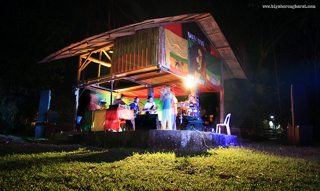 Camp Tiaong Gubat stage 5th Bob Day Roots Festival Quezon