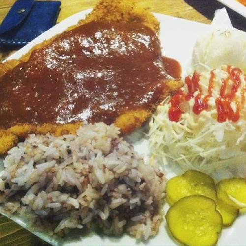 #cheese#donkatsu meal yummmm...nice place to check out, especially if u want to drink w friends