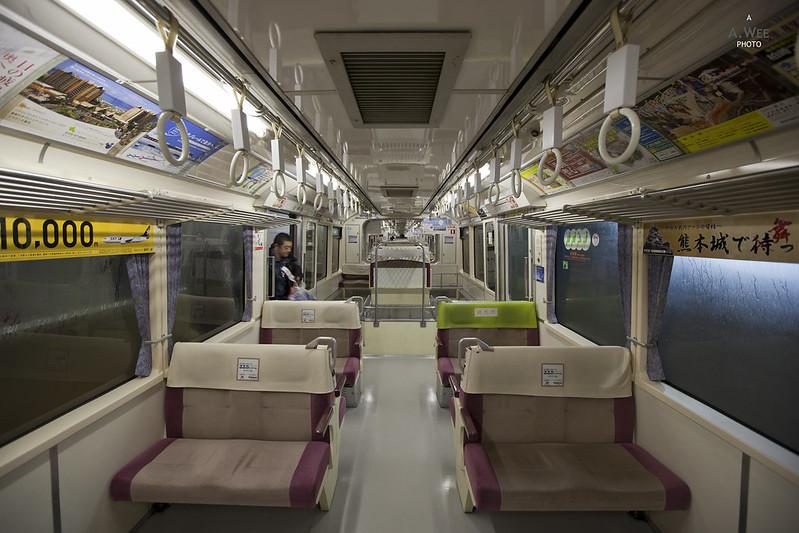 Tokyo Monorail Cabin